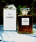 N5 by Chanel Paris, Ecusson by Jean D Albert, Rose 4 Reines by L Occitane