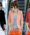 Áo khoác cách điệu,áo khoác vest nữ đủ màu sang trọng ,phom siu đẹp