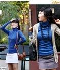 Áo len dáng dài, áo thun, áo len, áo cotton cổ lọ... siêu giảm giá cho các chị em đây.