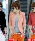Áo khoác vest thời trang hàng cực hot trong mùa thu đông năm nay