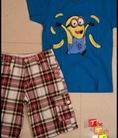The Teh Shop Sỉ Lẻ Short Caro, Somi Caro và T shirt GAP KIDS cho bé trai