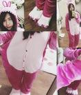 Pijama Bộ ngủ bông hình thú siêu đáng yêu dành cho cả người lớn lẫn trẻ em