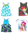 Những mẫu váy, áo phông và áo ba lỗ xuất khẩu mới nhất cho bé gái