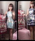 Đầm hoa họa tiết thailand cực xinh nha
