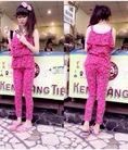 Bun Bon Shop : Chuyên bộ đồ mặc nhà Pink chỉ từ 160K