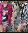 HOT SALE 30k 50k 80k Sơ mi Made in Japan,Korea.. kẻ caro,denim,sơ mi trắng...