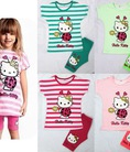 Thời trang Hello Kitty dành cho bé mê đồ Kitty nhé, rất xinh. Bán buôn bán sỉ mẫu mới hàng tuần nhé