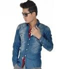 Áo Sơ Mi Jeans Nam cực chất cho nam cá tính với style đường phố
