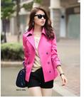 Mùa thu 2014 mới áo gió áo khoác nữ lớn mùa xuân Hàn Quốc ôm áo dài đôi ngực châu Âu và Mỹ