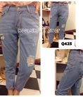 Bán buôn bán lẻ Jeans cạp cao, boyfriend jeans, quần yếm, baggy jeans, baggy vải, Quần giả váy... tất cả về quần