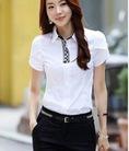 P Topic2: Thời trang công sở áo sơ mi zip ngắn trẻ trung tại shop Ngọc Bích sn 886 Dốc Minh Khai HN, gần bx Lương Yên