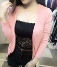 Áo len cardigan Thái Lan giá rẻ chỉ 100k, đủ 31 màu