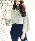 Dịu dàng và thanh lịch với áo len Hàn Quốc, áo dệt kim thời trang thu đông model 2014