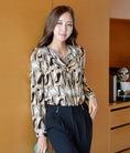 Phong cách công sở Hàn Quốc với Bộ sưu tập Áo sơ mi nữ Thời trang Công sở Hàn Quốc