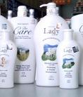 Sữa tắm dưỡng trắng da LADY LIFE hương Sữa dê 300ml.