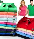 Áo phông LACOSTE, BURBERRY,POLO,ABERCROMBIE FITCH,nam nữ Sài Gòn xuất khẩu cực đẹp giá cực sốc.có loại làm đồng phục 60k