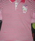 Áo thun nữ Hello Kitty tròn,cổ bẻ style phom chuẩn topic 1
