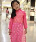 Áo dài trẻ em Thái Tuấn giá ưu đãi .
