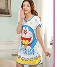 Váy ngủ kute free size, bộ đồ ngủ hoạt hình,váy ngủ 2 lớp hè thu, váy khoác bông Hàn Quốc đã có hàng hè 2014