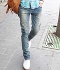Quần jean nam ống côn thời trang dành cho giới trẻ