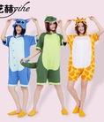 Pijama bộ ngủ hình thú cộc tay cho mùa hè