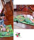 Bộ chăn gối và đồ chơi cho bé yêu