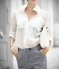 Hiện đại, trẻ trung với áo sơ mi phong cách Hàn Quốc hè 2014
