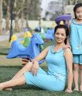 BST thời trang mặc nhà Sắc màu thiên nhiên dành cho mẹ và bé