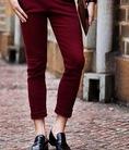 Quần jeans ống côn hàn quốc, quan kaki ống côn 2014 hàng chất