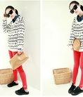 Áo len dài tay nữ đáng yêu kiểu Nhật