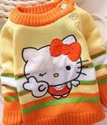 Áo len dài tay cotton cho trẻ em