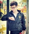 Áo khoác nam Hàn Quốc thời trang mới , áo khoác nam thể hiện phong cách trẻ