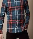 Sơmi nam Burberry với những biến tấu về màu sắc mới nhất 2014....