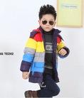 Thời trang sành điệu phá cách cho bé trai với các bộ body liền hè, thu, đông 2014