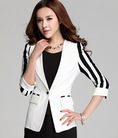 Áo vest nữ tay sọc