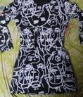 Áo len mỏng họa tiết