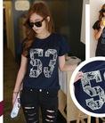 Cung Cấp Sỉ Áo Thun Teen Short Jeans Nam Cổ trụ Giá Tận Xưởng 45K
