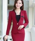 Áo vest nữ trẻ đẹp, bộ vest thời trang thu Hàn Quốc 2015 cho giáo viên, công sở .Nhận hàng rồi trả tiền.