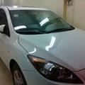 Bán xe Mazda 3 sedan mầu trắng đời 2010