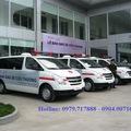 Chuyên các dòng xe Hyundai Starex và Starex cứu thương máy xăng, dầu