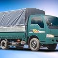 Bán xe tải cũ Kia 1,4 tấn, Frontier nhập khẩu thùng khung mui bạt màu xanh đời chót 2003