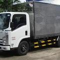 Bán xe tải cũ isuzu 4 tấn thùng kín INOX 2 lớp, xe đẹp, đời 2007, biển HN, CC