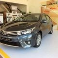 Đại lí Toyota Hải Phòng ra mắt Corolla Altis 2015 với 3 phiên bản mới nhất