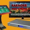 Đầu karaoke chọn bài cảm ứng chuyên nghiệp giá tốt.