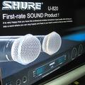 Micro Karaoke Không Dây Shure 820, máy bắt sóng lớn, micro chuyên karaoke, gia đình