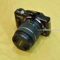 Bán máy ảnh Lumix GF3 len theo máy 14 42mm máy đẹp như mới.