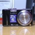 Bán máy ảnh siêu zoom 16x, 14mp, GPS Lumix TZ22 TZ20 máy hàng Japan.