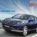 Honda Crv mới chất lượng tốt nhất giao xe sớm và Km lớn