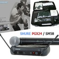 Micro Shure PGX24/Beta58 âm thanh trung thực trong trẻo, hút âm nhạy, chống hú tốt thích hợp cho karaoke. Hàng mới về.