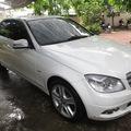 Bán xe Mercedes C300. Màu trắng, đời 2010
